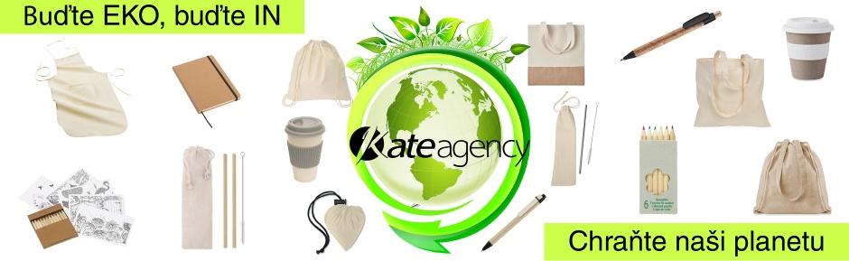 Buďte EKO, buďte IN, chraňte naši planetu, ekologické reklamní předměty