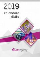 Titulní stránka katalogu Kalendáře a diáře 2019 II