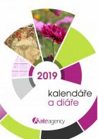 Titulní stránka katalogu Kalendáře a diáře 2019 III