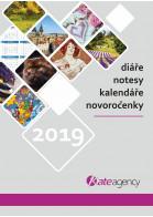 Titulní stránka katalogu Kalendáře a diáře 2019 IV