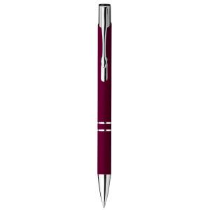 """Reklamní předmět """"Kovové kuličkové pero"""" v barevné variantě červená"""