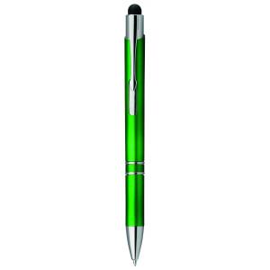 """Reklamní předmět """"Kuličkové pero se stylusem"""" v barevné variantě tmavě zelená"""