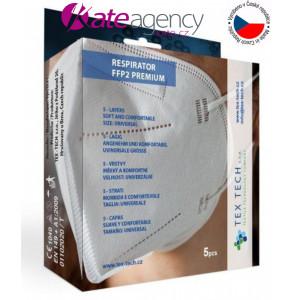 "Fotografie k reklamnímu předmětu ""Tex-Tech respirátor FFP2 vyrobený v ČR - SKLADEM"""