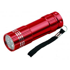 """Reklamní předmět """"Kapesní svítilna LED"""" v barevné variantě tmavě červená"""