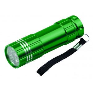 """Reklamní předmět """"Kapesní svítilna LED"""" v barevné variantě tmavě zelená"""