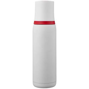 """Reklamní předmět """"Termoska 500 ml"""" v barevné variantě bílá/červená"""