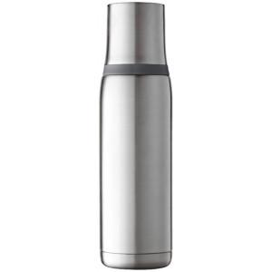 """Reklamní předmět """"Termoska 500 ml"""" v barevné variantě stříbrná/šedá"""