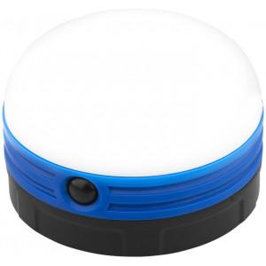 """Reklamní předmět """"Campingová svítilna"""" v barevné variantě modrá/černá"""