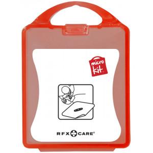 """Reklamní předmět """"Mikrosada maska k dýchání"""" v barevné variantě červená"""