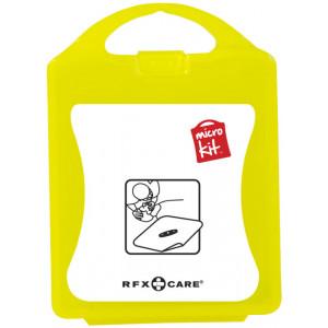 """Reklamní předmět """"Mikrosada maska k dýchání"""" v barevné variantě žlutá"""