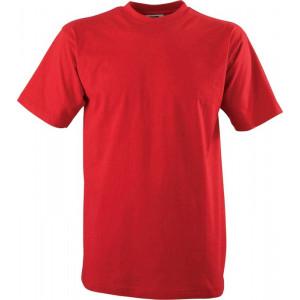 """Reklamní předmět """"Tričko Slazenger"""" v barevné variantě tmavě červená"""