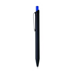 """Reklamní předmět """"Kovové kuličkové pero"""" v barevné variantě černá/modrá"""