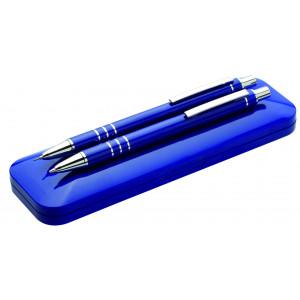 """Reklamní předmět """"Dárková sada"""" v barevné variantě modrá"""
