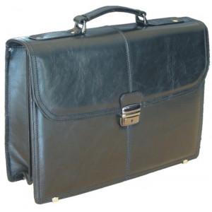 """Reklamní předmět """"Konferenční taška Triton"""" v barevné variantě černá"""