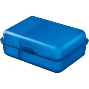 """Reklamní předmět """"Box na svačinu"""" v barevné variantě ocelově modrá"""