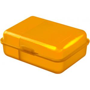 """Reklamní předmět """"Box na svačinu"""" v barevné variantě žlutooranžová"""
