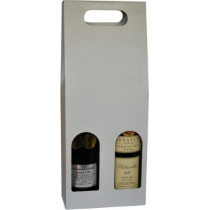 """Náhled reklamního předmětu """"Kartonová krabice na 2 lahve 0,75 l"""""""