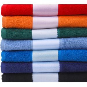 """Reklamní předmět """"Ručník pro plnobarevný potisk do bordury"""" v barevné variantě červená"""