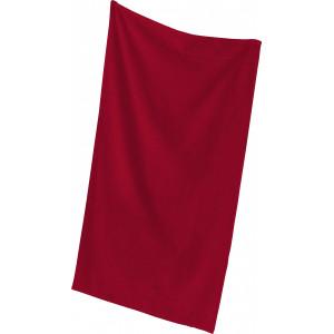 """Reklamní předmět """"Osuška Quality"""" v barevné variantě tmavě červená"""