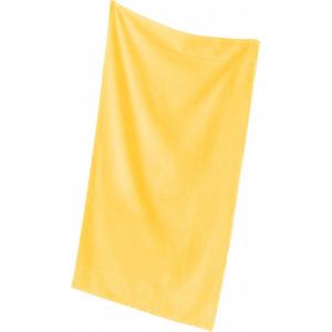"""Reklamní předmět """"Ručník Quality"""" v barevné variantě žlutooranžová"""
