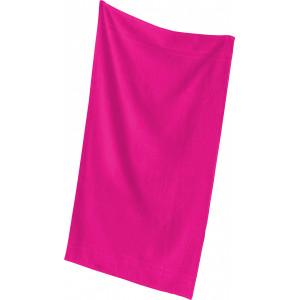"""Reklamní předmět """"Ručník Quality"""" v barevné variantě tmavě růžová"""