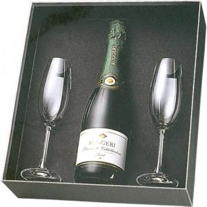 """Náhled reklamního předmětu """"Rosenthal set s šampaňským 0,75 l"""""""