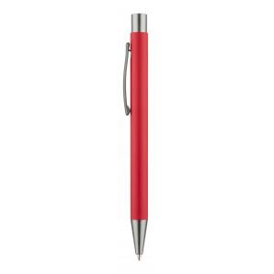 """Reklamní předmět """"Kuličkové pero"""" v barevné variantě červená"""