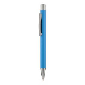 """Reklamní předmět """"Kuličkové pero"""" v barevné variantě modrá"""