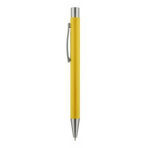 """Reklamní předmět """"Kuličkové pero"""" v barevné variantě žlutá"""