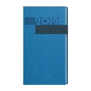 """Reklamní předmět """"Kapesní diář denní Vigo Filip 2019"""" v barevné variantě modrá"""
