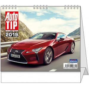 """Náhled reklamního předmětu """"Stolní kalendář Autotip 2019"""""""