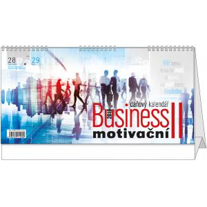 """Náhled reklamního předmětu """"Stolní kalendář Business II. motivační 2019"""""""