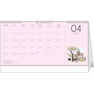 """Fotografie č. 2 k reklamnímu předmětu """"Stolní kalendář Dvouletý kalendář 2019 - 2020"""""""
