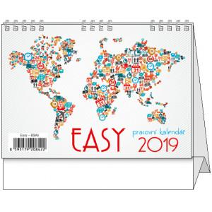 """Náhled reklamního předmětu """"Stolní kalendář Easy 2019"""""""