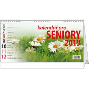 """Náhled reklamního předmětu """"Stolní kalendář Kalendář pro seniory 2019"""""""