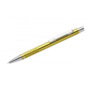 """Reklamní předmět """"Kovové kuličkové pero (propiska) Bona, gelová náplň"""" v barevné variantě zlatá"""