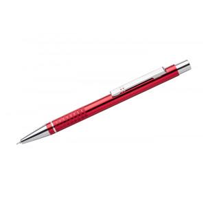 """Reklamní předmět """"Kovové kuličkové pero (propiska) Bona, gelová náplň"""" v barevné variantě oranžová"""