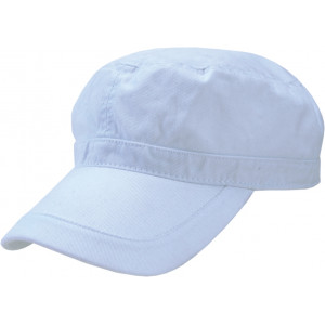 """Reklamní předmět """"Kšiltovka Military"""" v barevné variantě bílá"""