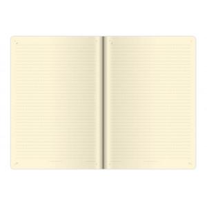 """Fotografie č. 1 k reklamnímu předmětu """"Notes Double Blue L 14,3x20,5 cm, linkovaný"""""""