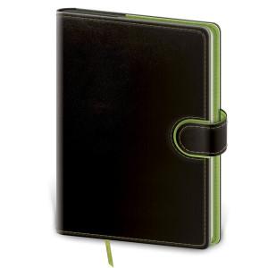 """Náhled reklamního předmětu """"Notes Flip s vyměnitelnými deskami 14,3x20,5 cm, tečkovaný"""""""