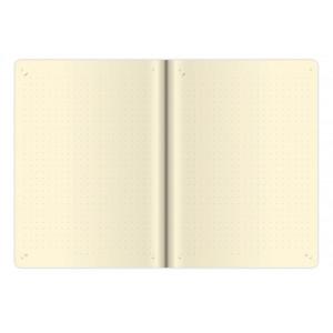 """Fotografie k reklamnímu předmětu """"Notes My Red M 12x16,5 cm, tečkovaný"""""""