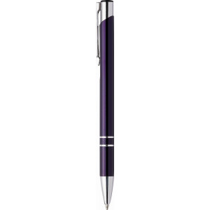 """Reklamní předmět """"Kovové kuličkové pero (propiska) Cosmo"""" v barevné variantě námořnická modř"""