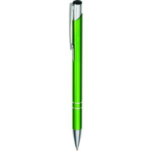 """Reklamní předmět """"Kovové kuličkové pero (propiska) Cosmo"""" v barevné variantě tmavě zelená"""