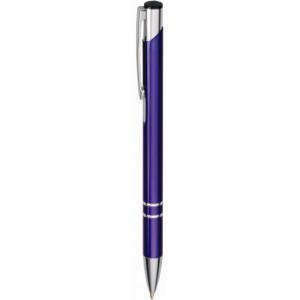 """Reklamní předmět """"Kovové kuličkové pero (propiska) Cosmo"""" v barevné variantě fialová"""