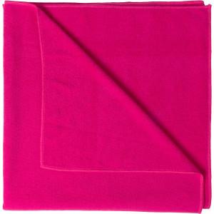 """Reklamní předmět """"Osuška z mikrovlákna"""" v barevné variantě tmavě růžová"""