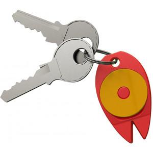 """Náhled reklamního předmětu """"Přívěšek na klíče se žetonem a s pinzetou na klíště"""""""