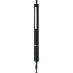 """Reklamní předmět """"Kovové kuličkové pero (propiska) Kate"""" v barevné variantě černá"""