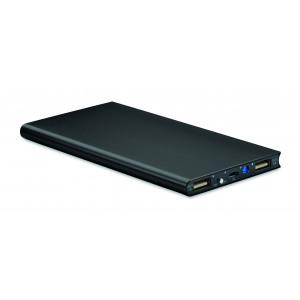 """Reklamní předmět """"Powerbank 8000 mAh"""" v barevné variantě černá"""