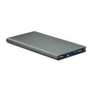 """Reklamní předmět """"Powerbank 8000 mAh"""" v barevné variantě šedá"""