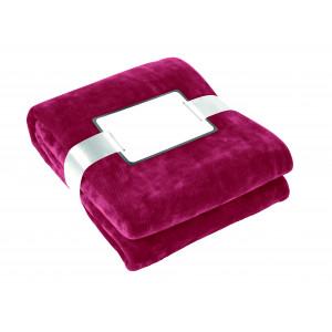 """Reklamní předmět """"Fleecová deka"""" v barevné variantě červená"""
